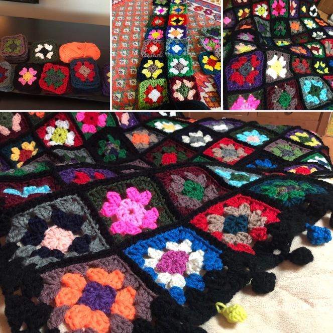 Scrap Granny blanket